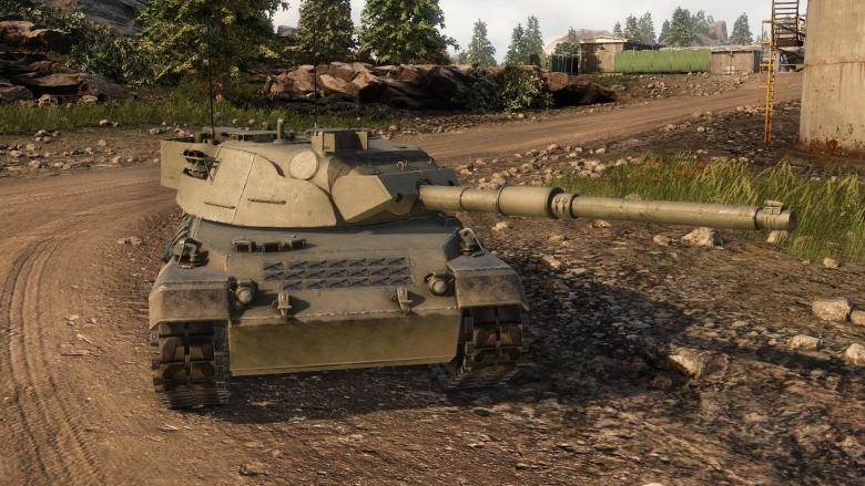 1974 Krauss Maffei Leopard 1a1a1