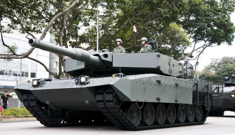 Singapore Army Open House 2017 Leopard Tank Miniature Toys S Bricks Figurines On Carou