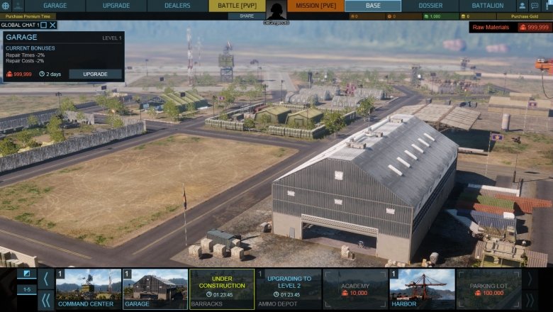 base2 Armored Warfare Early Access