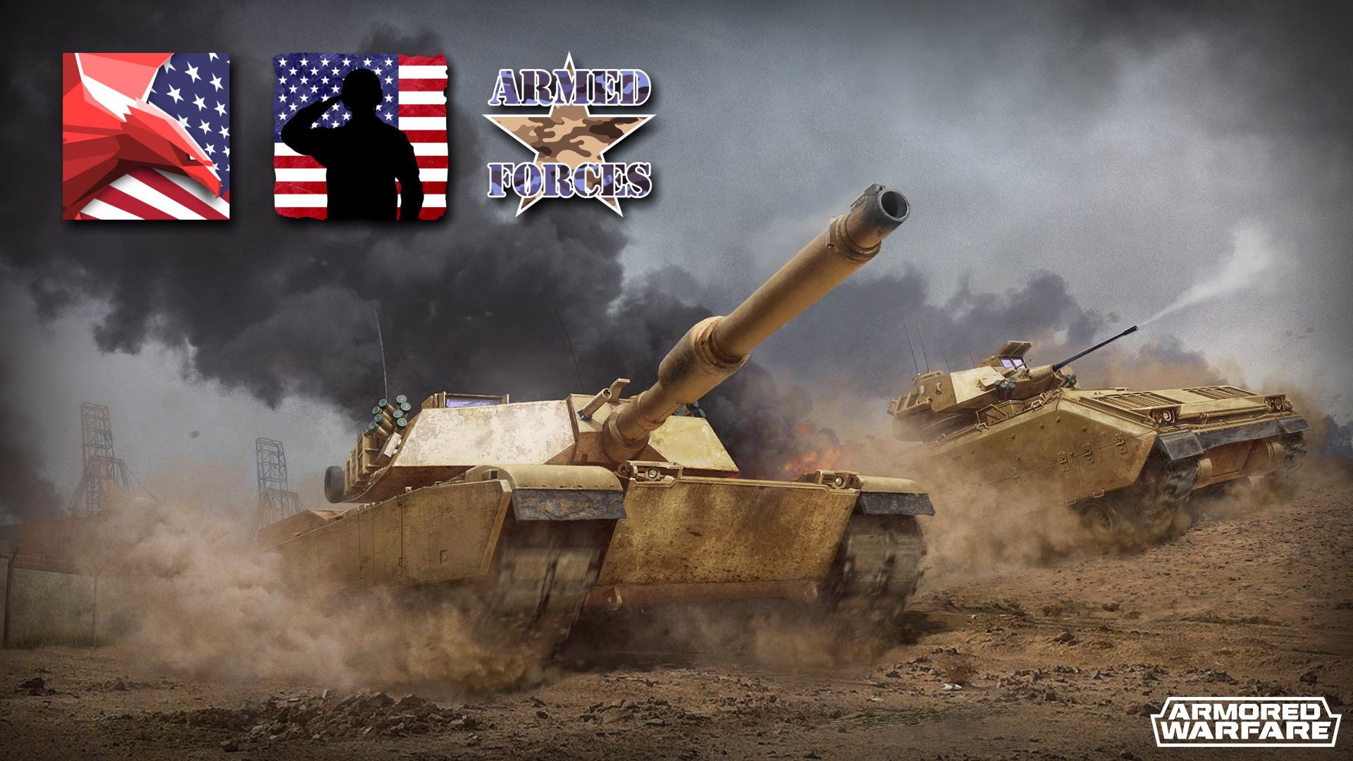 Armored Warfare :: Bonus Missions: U S  Armed Forces Day