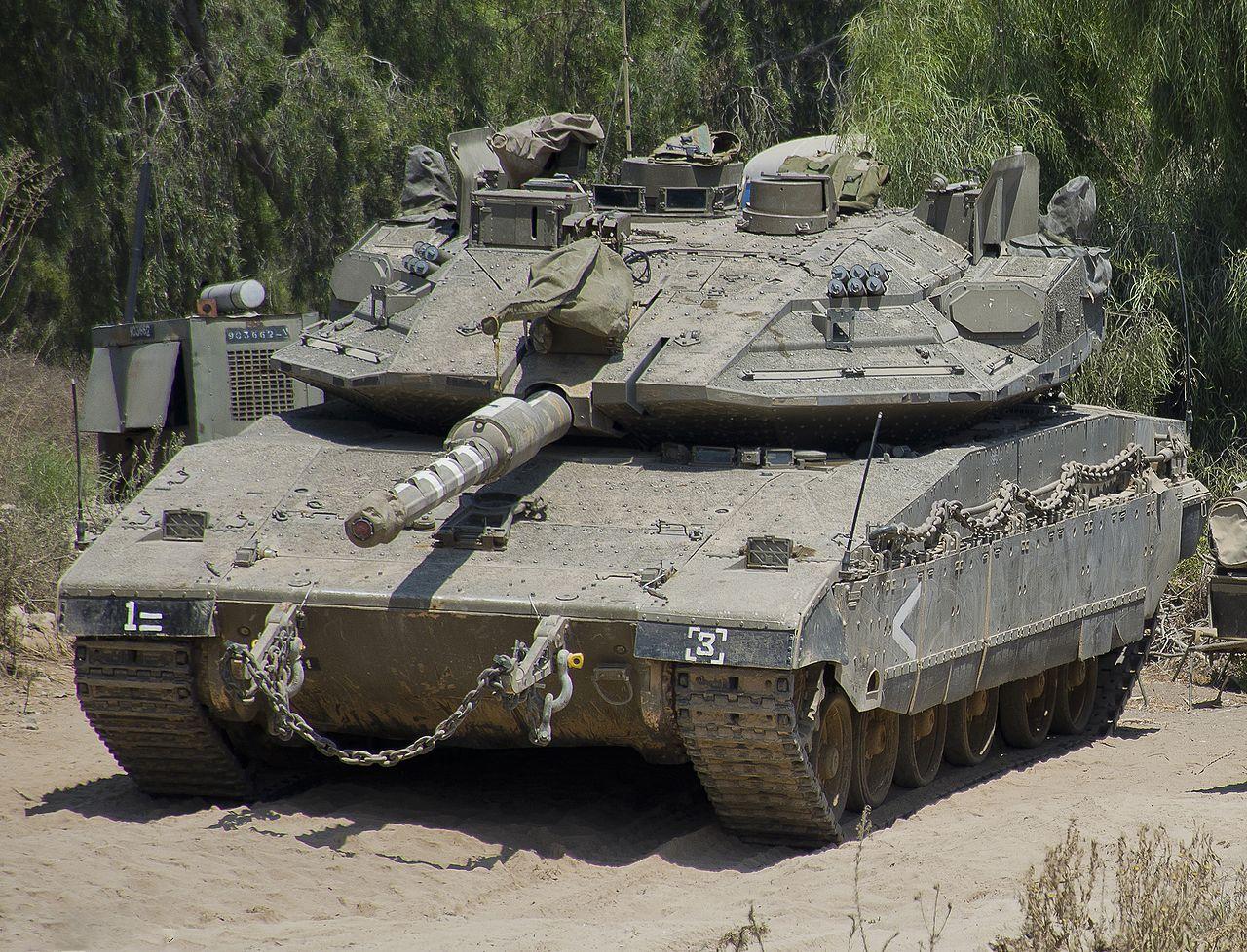 Israeli tank Merkava-4: characteristics, photo 74
