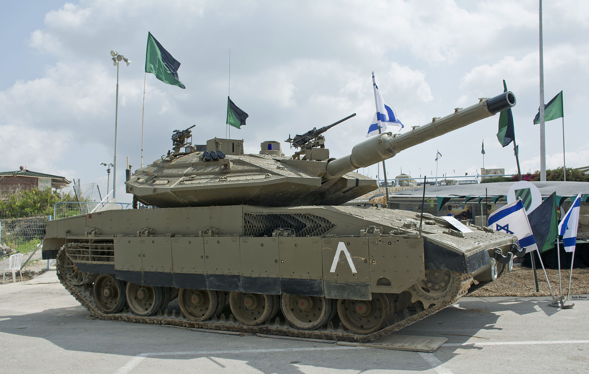 Israeli tank Merkava-4: characteristics, photo 18