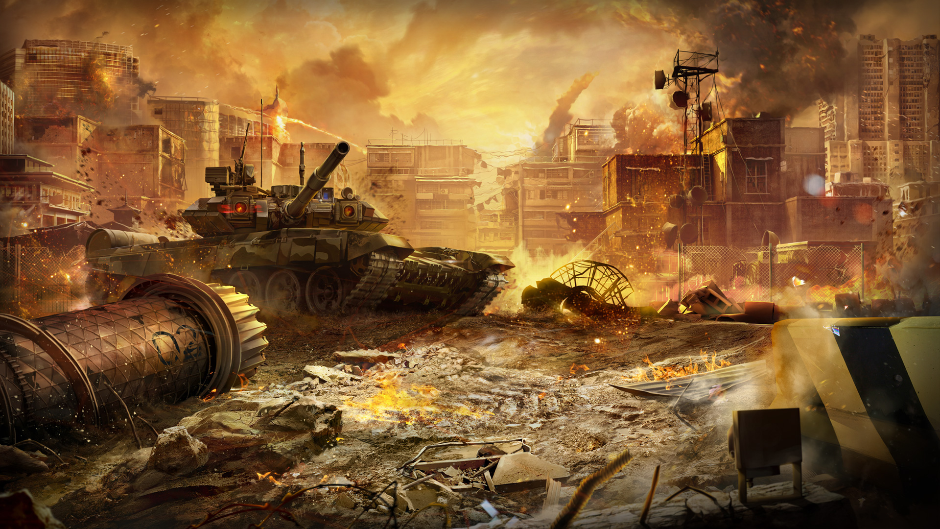 Calendar Wallpaper June : Armored warfare september calendar